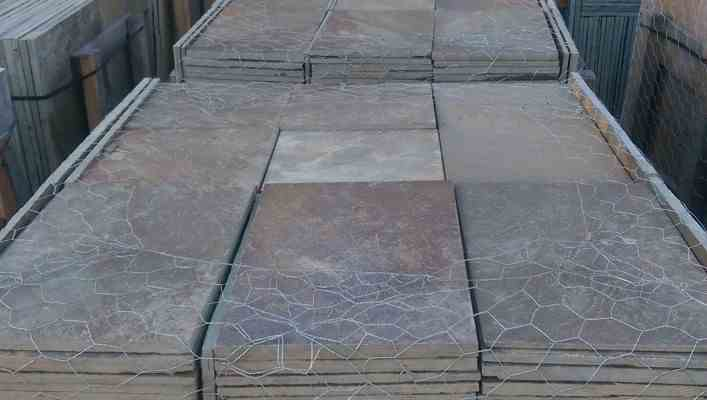 Blue Stone Flooring Home Design