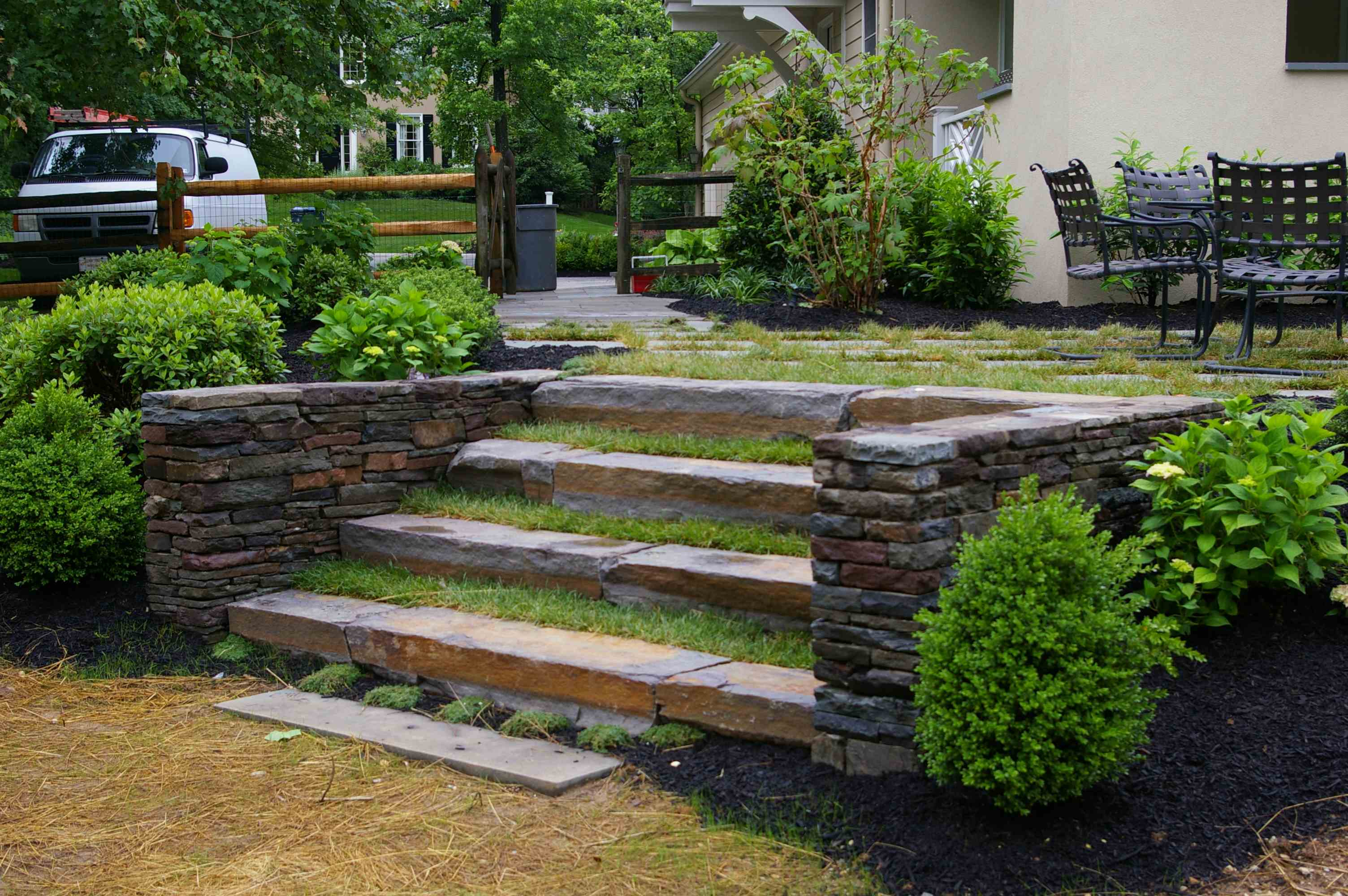 Ideas for landscaping on a hill for Landscaping rocks on a hill