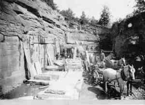 Historic Bluestone Quarry Long Edy NY