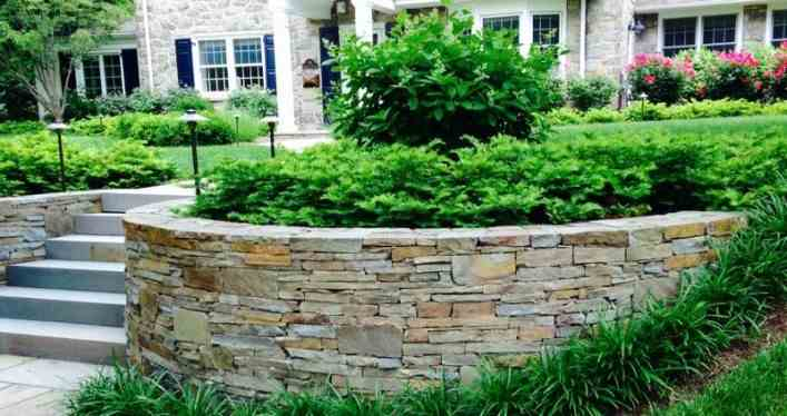 colonial wall stone