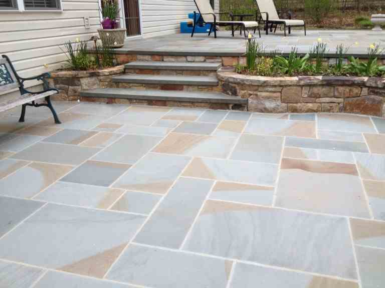full color thermal pattern patio